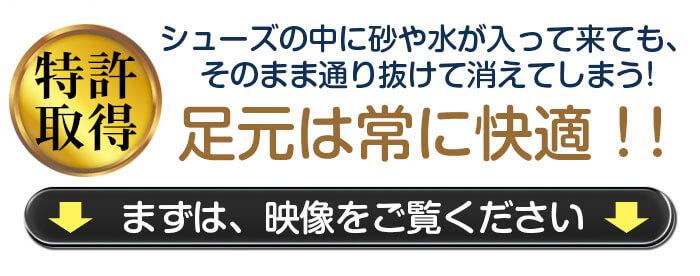 スナテックス シューズ映像紹介