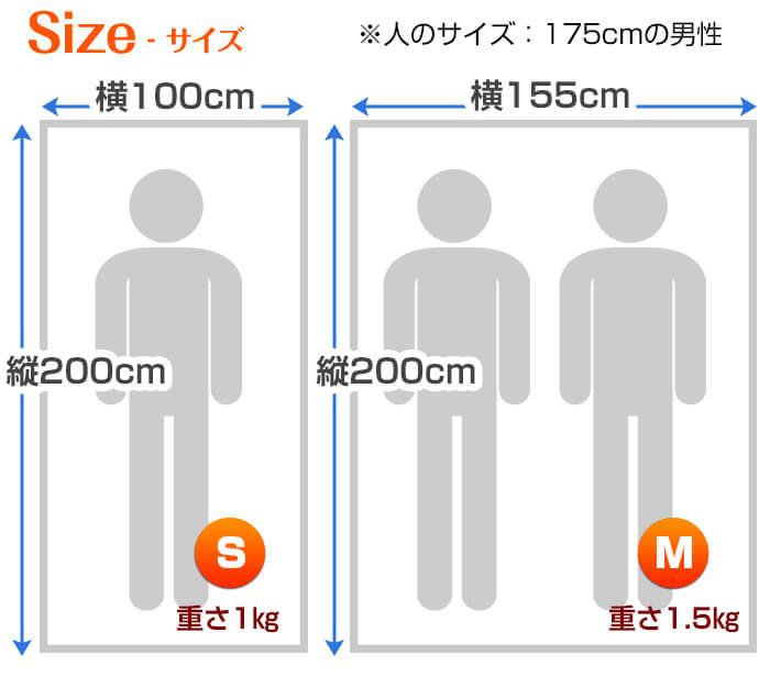 リゾートサイズ寸法1