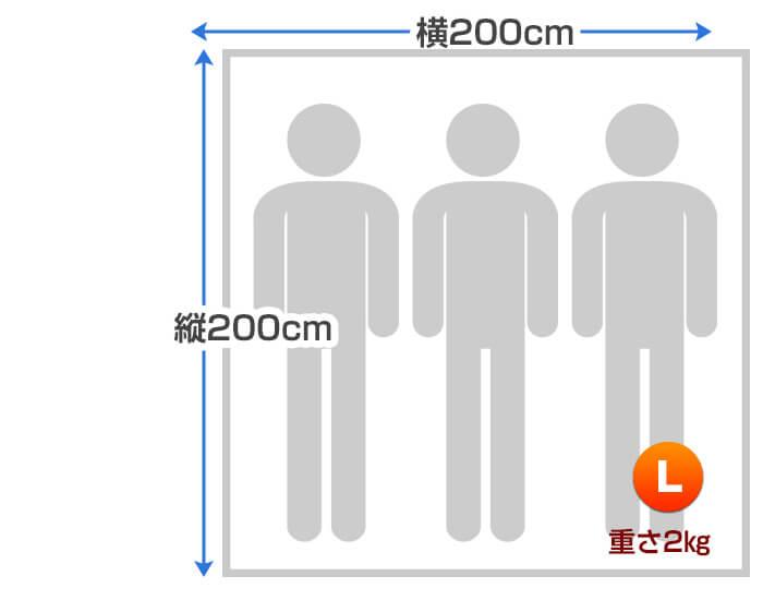 リゾートサイズ寸法2